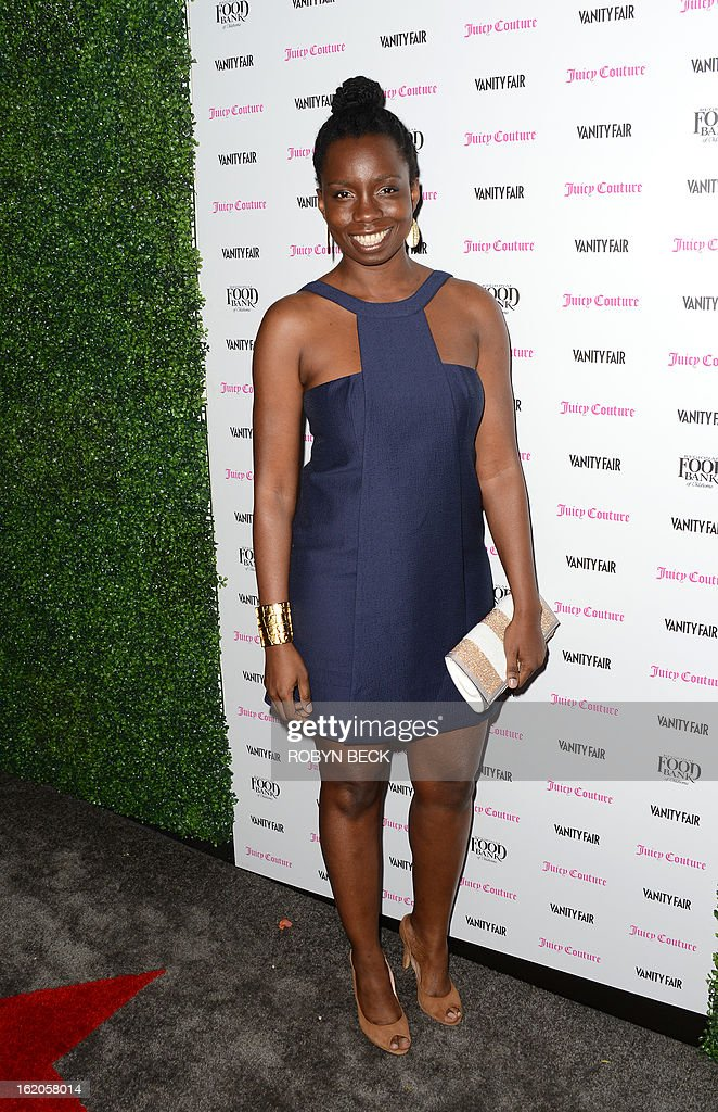 Actress Adepero Oduye attends the Vanity Fair And Juicy Couture Celebration Of The 2013 Vanities Calendar party at Chateau Marmont February 18, 2013 in West Hollywood, California. AFP PHOTO Robyn BECK