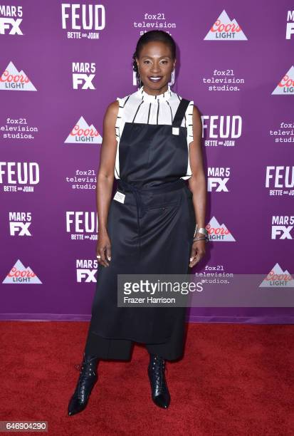 Actress Adina Porter attends FX Network's 'Feud Bette and Joan' premiere at Grauman's Chinese Theatre on March 1 2017 in Hollywood California