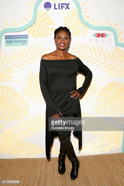 Actress Adina Porter attends Kari Feinstein's Style Lounge presented by LIFX on February 26 2016 in Los Angeles California
