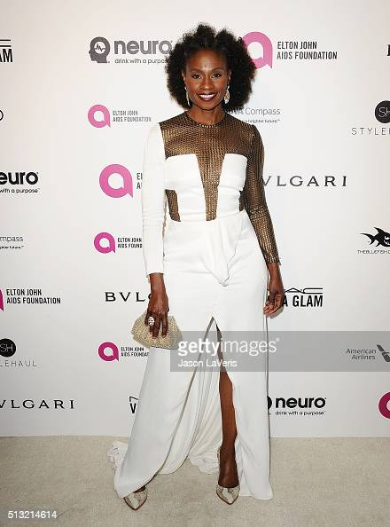 Actress Adina Porter attends the 24th annual Elton John AIDS Foundation's Oscar viewing party on February 28 2016 in West Hollywood California