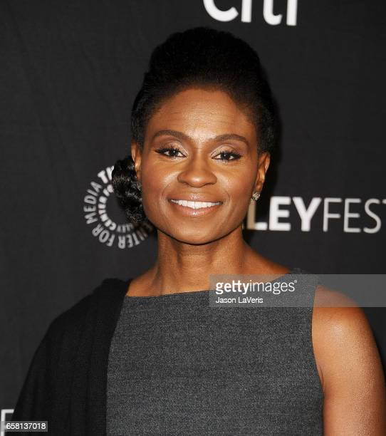Actress Adina Porter attends the 'American Horror Story Roanoke' event at the Paley Center for Media's 34th annual PaleyFest at Dolby Theatre on...