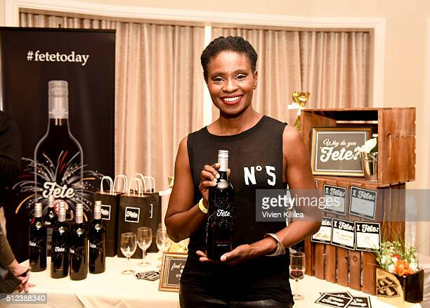 Actress Adina Porter attends the ECOLUXE PreOscars Celebrity Luxury Lounge on February 25 2016 in Beverly Hills California