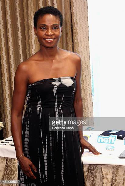 Actress Adina Porter attends the HBO Luxury Lounge featuring PANDORA at Four Seasons Hotel Los Angeles at Beverly Hills on August 24 2014 in Beverly...