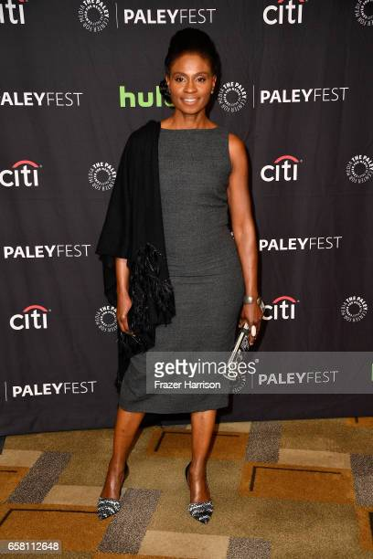 Actress Adina Porter attends The Paley Center For Media's 34th Annual PaleyFest Los Angeles 'American Horror Story 'Roanoke' screening and panel at...