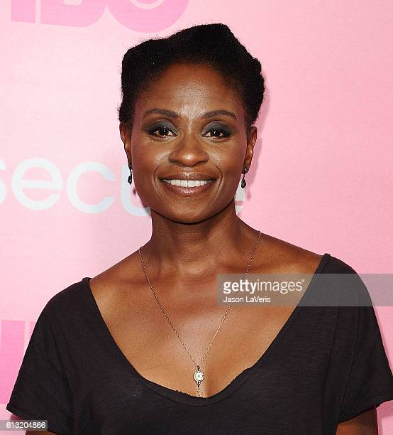 Actress Adina Porter attends the premiere of 'Insecure' at Nate Holden Performing Arts Center on October 6 2016 in Los Angeles California