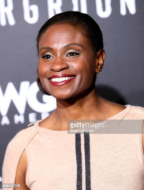 Actress Adina Porter attends the premiere of WGN America's 'Underground' Season 2 at Westwood Village on February 28 2017 in Los Angeles California