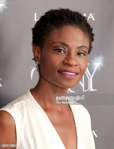 Actress Adina Porter attends The Tony Awards Celebrate Broadway In Hollywood at Sunset Tower on March 25 2015 in West Hollywood California