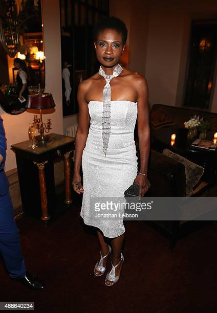Actress Adina Porter attends the Variety and Formula E Hollywood Gala at Chateau Marmont on April 4 2015 in Los Angeles California