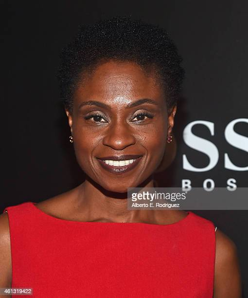 Actress Adina Porter attends the W Magazine Shooting Stars Exhibit Opening at Wilshire May Company Building on January 9 2015 in Los Angeles...