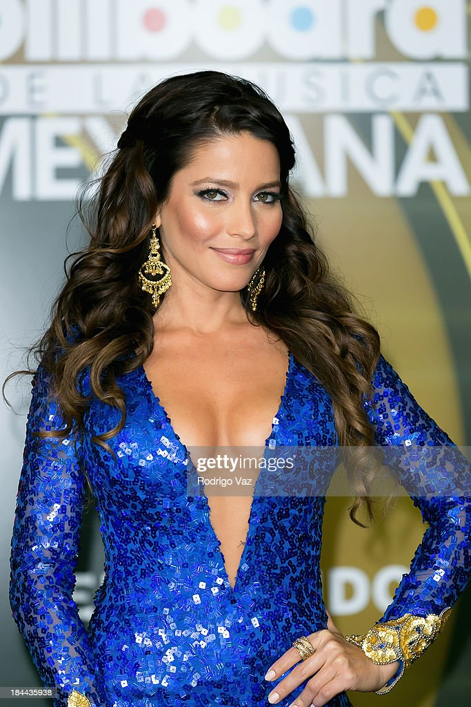 Actress <a gi-track='captionPersonalityLinkClicked' href=/galleries/search?phrase=Adriana+Fonseca&family=editorial&specificpeople=3006593 ng-click='$event.stopPropagation()'>Adriana Fonseca</a> attends the 2013 Billboard Mexican Music Awards Press Room at Dolby Theatre on October 9, 2013 in Hollywood, California.