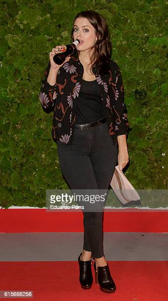 Actress Adriana Torrebejano attends the 'Mercado de Sabores' 3rd edition photocall at Madrid Cityhall on October 19 2016 in Madrid Spain