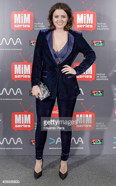 Actress Adriana Torrebejano attends the 'MIM awards' photocall at ME hotel on November 28 2016 in Madrid Spain