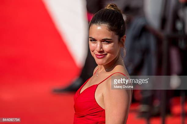 Actress Adriana Ugarte arrives at the opening ceremony of the 51st Karlovy Vary International Film Festival on July 1 2016 in Karlovy Vary Czech...