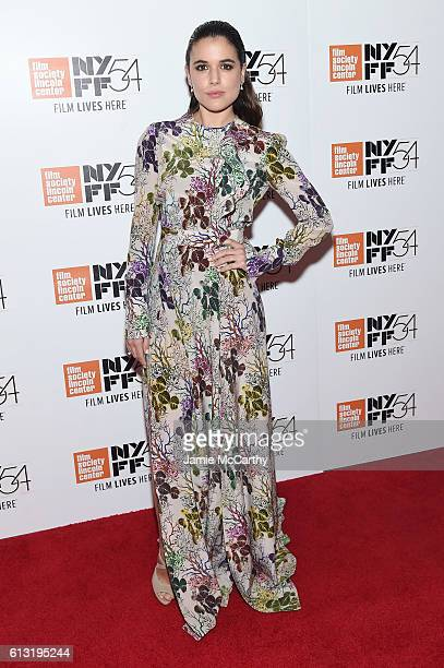 Actress Adriana Ugarte attends the 'Julieta' photo call during the 54th New York Film Festival at Alice Tully Hall on October 7 2016 in New York City