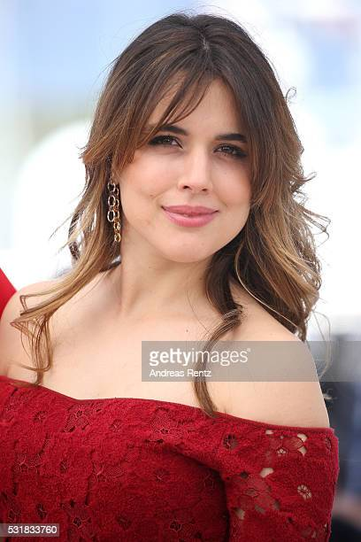 Actress Adriana Ugarte attends the 'Julietta' Photocall during the 69th annual Cannes Film Festival at the Palais des Festivals on May 17 2016 in...