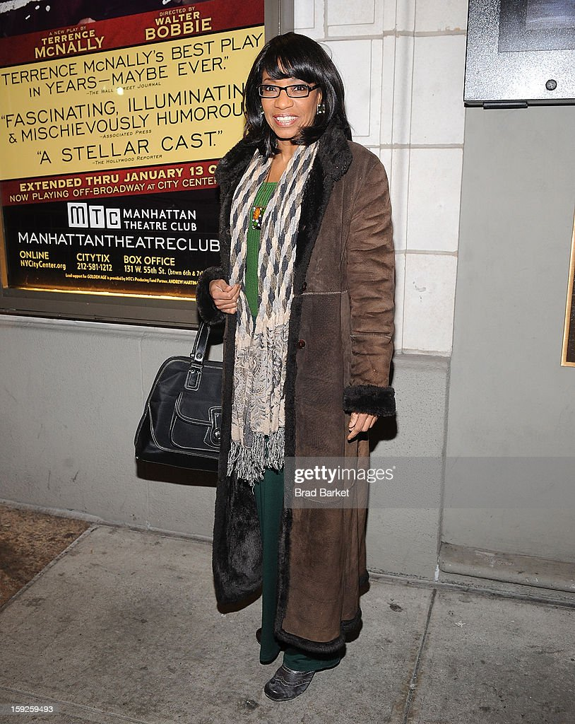 Actress <a gi-track='captionPersonalityLinkClicked' href=/galleries/search?phrase=Adriane+Lenox&family=editorial&specificpeople=220503 ng-click='$event.stopPropagation()'>Adriane Lenox</a> attends 'The Other Place' Broadway opening night at Samuel J. Friedman Theatre on January 10, 2013 in New York City.