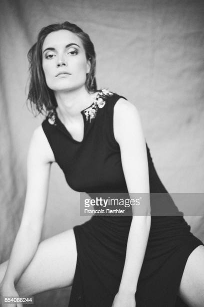 Actress Adrianna Gradziel is photographed on June 28 2017 in Paris France