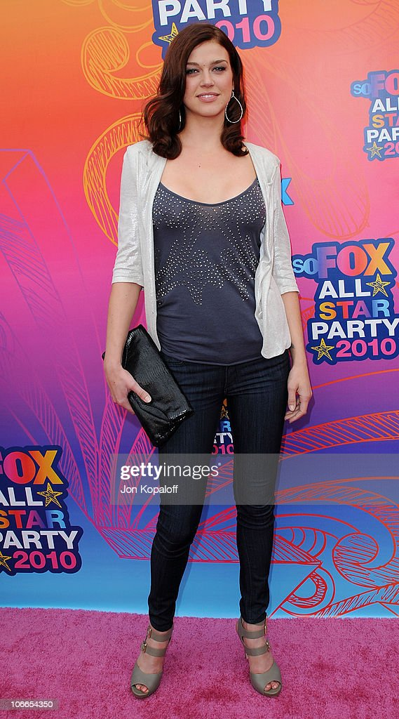 Actress <a gi-track='captionPersonalityLinkClicked' href=/galleries/search?phrase=Adrianne+Palicki&family=editorial&specificpeople=632846 ng-click='$event.stopPropagation()'>Adrianne Palicki</a> arrives at the Fox All-Star Party at Pacific Park at the Santa Monica Pier on August 2, 2010 in Santa Monica, California.