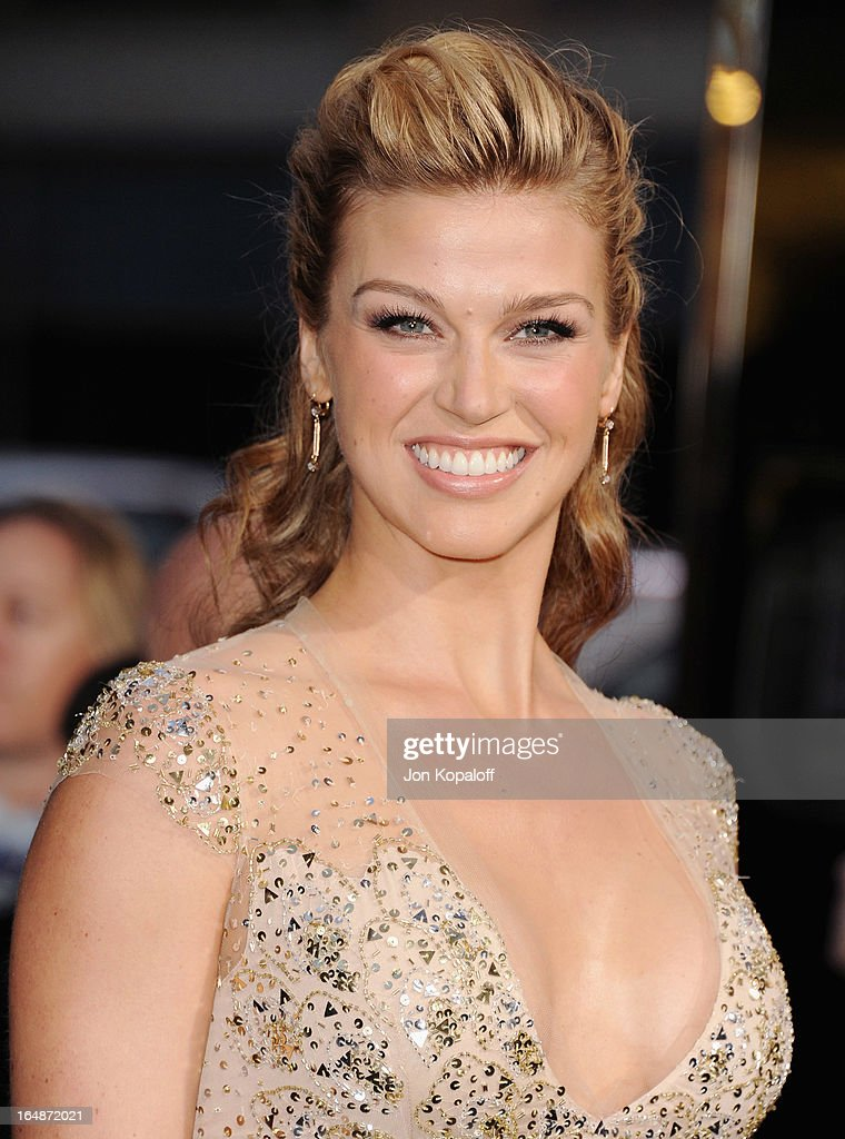 Actress Adrianne Palicki arrives at the Los Angeles Premiere 'G.I. Joe: Retaliation' at TCL Chinese Theatre on March 28, 2013 in Hollywood, California.