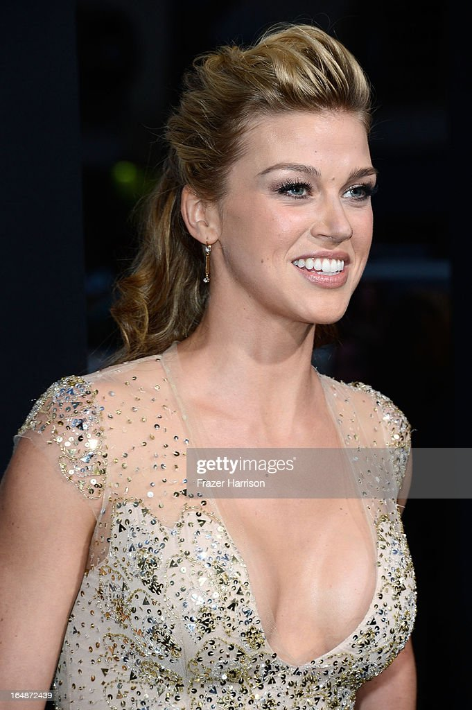 Actress Adrianne Palicki arrives at the Premiere of Paramount Pictures' 'G.I. Joe: Retaliation' at TCL Chinese Theatre on March 28, 2013 in Hollywood, California.