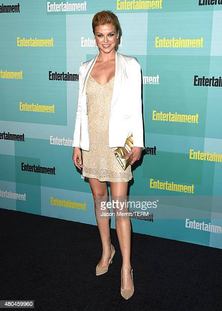 Actress Adrianne Palicki attends Entertainment Weekly's Annual ComicCon Party in celebration of ComicCon 2015 at FLOAT at The Hard Rock Hotel on July...