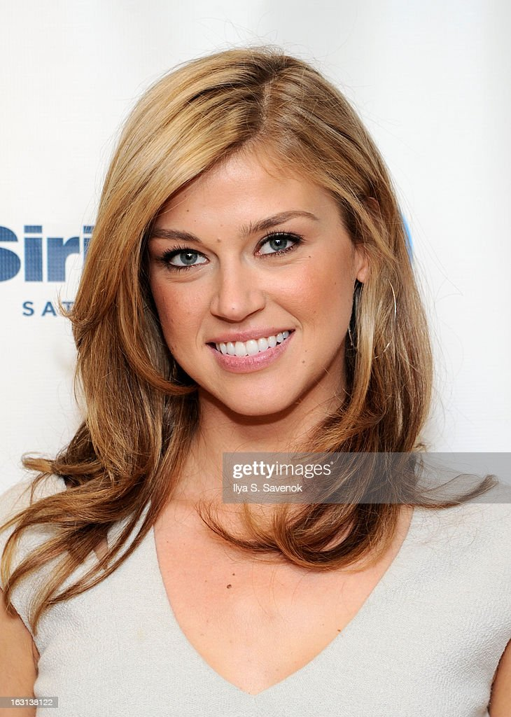 Actress Adrianne Palicki visits the SiriusXM Studios on March 5, 2013 in New York City.