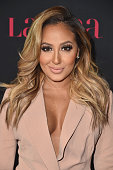 Actress Adrienne Bailon attends LATINA Magazine's 'Hollywood Hot List' party at the Sunset Tower Hotel on October 2 2014 in West Hollywood California