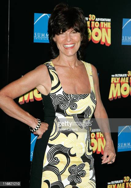 Actress Adrienne Barbeau attends the Los Angeles premiere of 'Fly Me to the Moon' at the DGA Theater on August 3 2008 in Los Angeles California