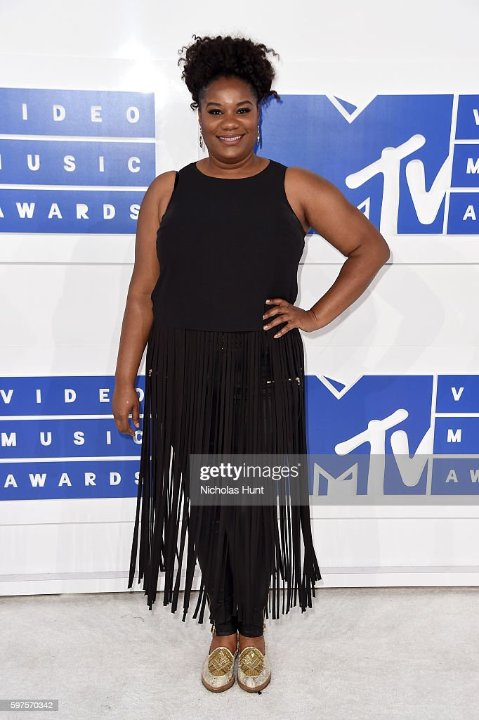 Actress Adrienne C Moore attends the 2016 MTV Video Music Awards at Madison Square Garden on August 28 2016 in New York City