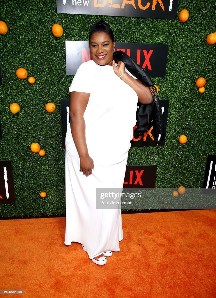 Actress Adrienne C. Moore attends the 'Orange Is The New Black' Season 5 Celebration at Catch on June 9, 2017 in New York City.