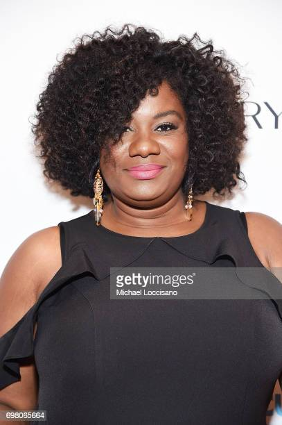 Actress Adrienne C Moore attends the 'Straight/Curve' New York premiere at the Whitby Hotel on June 19 2017 in New York City