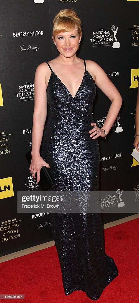 Actress Adrienne Frantz attends the 39th Annual Daytime Entertainment Emmy Awards at The Beverly Hilton Hotel on June 23, 2012 in Beverly Hills, California.