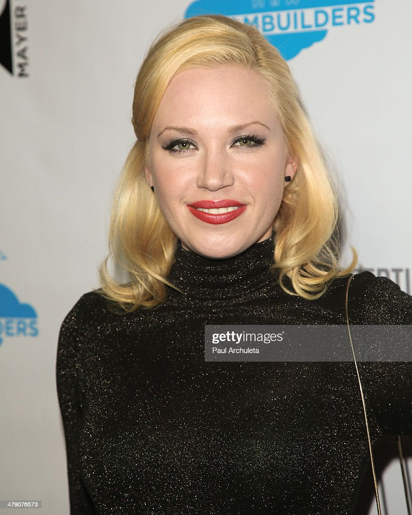 Actress Adrienne Frantz attends the Dream Builders project's 'A Brighter Future For Children' benefit at H.O.M.E. on March 15, 2014 in Beverly Hills, California.