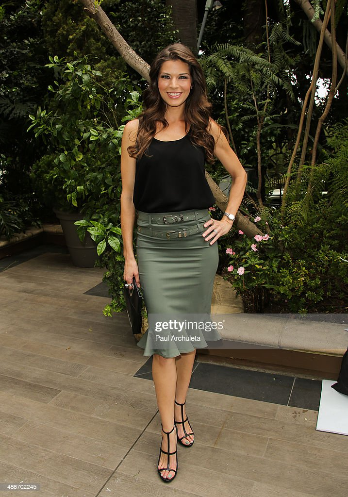 Actress Adrienne Janic attends the ABCs Mother's Day Luncheon at Four Seasons Hotel Los Angeles at Beverly Hills on May 7 2014 in Beverly Hills...
