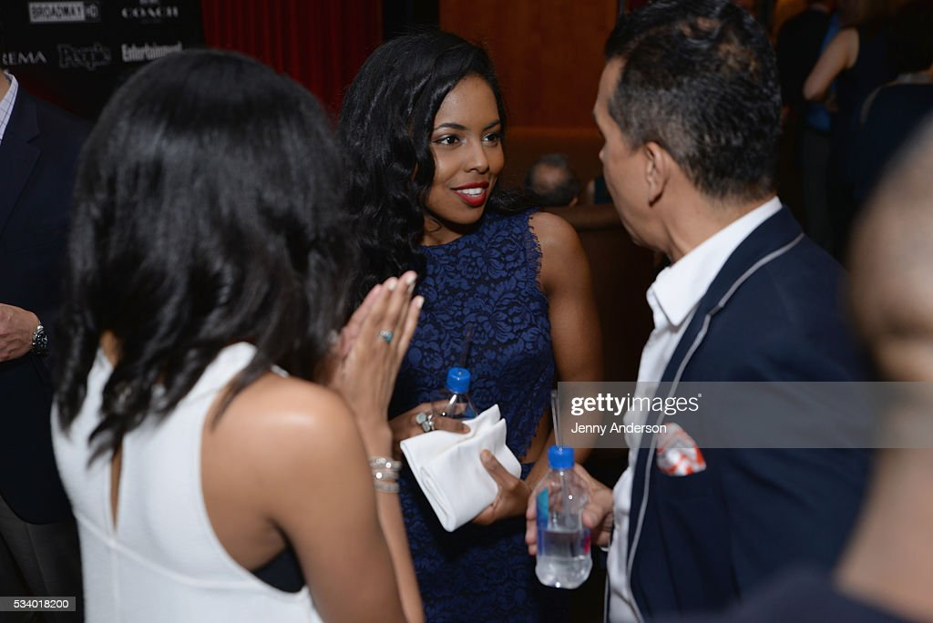Actress <a gi-track='captionPersonalityLinkClicked' href=/galleries/search?phrase=Adrienne+Warren&family=editorial&specificpeople=6536003 ng-click='$event.stopPropagation()'>Adrienne Warren</a> arrives at A Toast To The 2016 Tony Awards Creative Arts Nominees at The Lambs Club on May 24, 2016 in New York City.