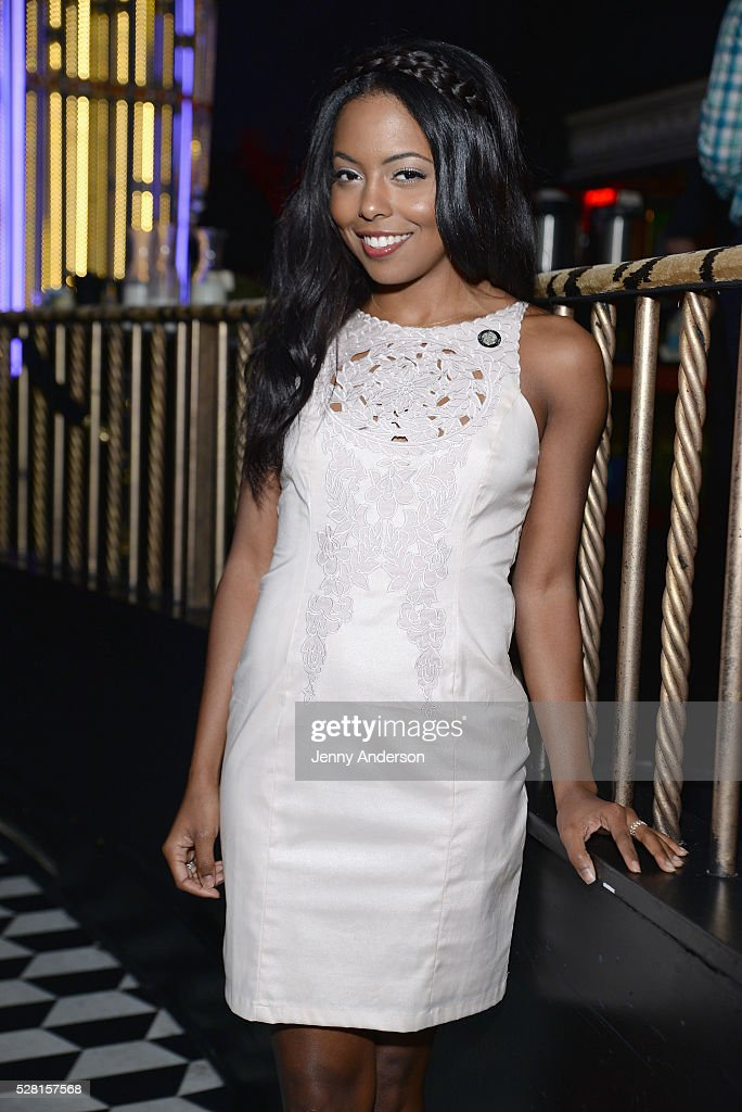 Actress Adrienne Warren attends 2016 Tony Awards Meet The Nominees Press Reception on May 4, 2016 in New York City.
