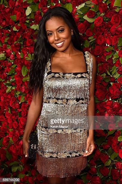 Actress Adrienne Warren attends the 70th Annual Tony Awards at The Beacon Theatre on June 12 2016 in New York City