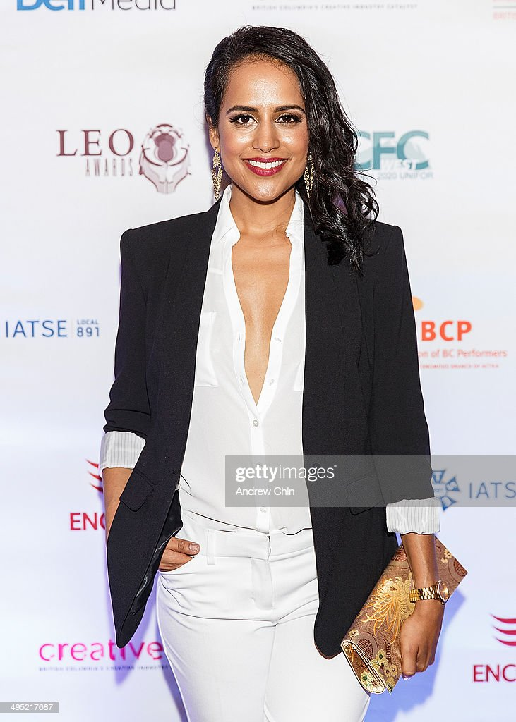 Actress Agam Darshi attends the 2014 Leo Awards - Gala Awards Ceremony at Fairmont Hotel Vancouver on June 1, 2014 in Vancouver, Canada.