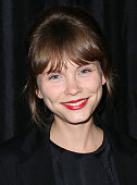 Actress Agata Trzebuchowska attends the 40th Annual Los Angeles Film Critics Association Awards at the Intercontinental Century City on January 10...