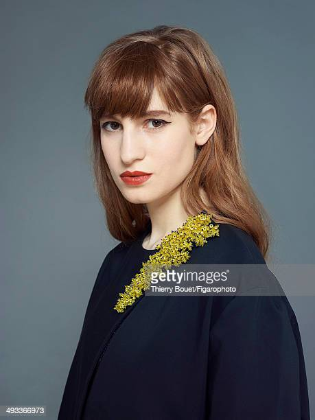 108879008 Actress Agathe Bonitzer is photographed for Madame Figaro on February 7 2014 in Paris France Dress PUBLISHED IMAGE CREDIT MUST READ Thierry...
