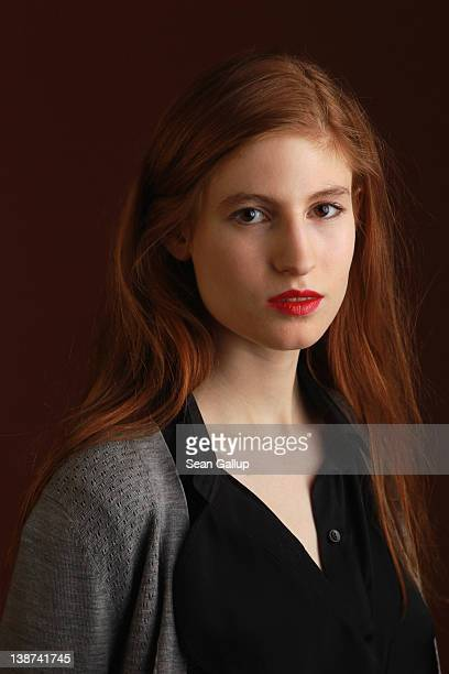 Actress Agathe Bonitzer of the film 'Coming Home' poses during a portrait session at the 62nd Berlinale International Film Festival on February 11...
