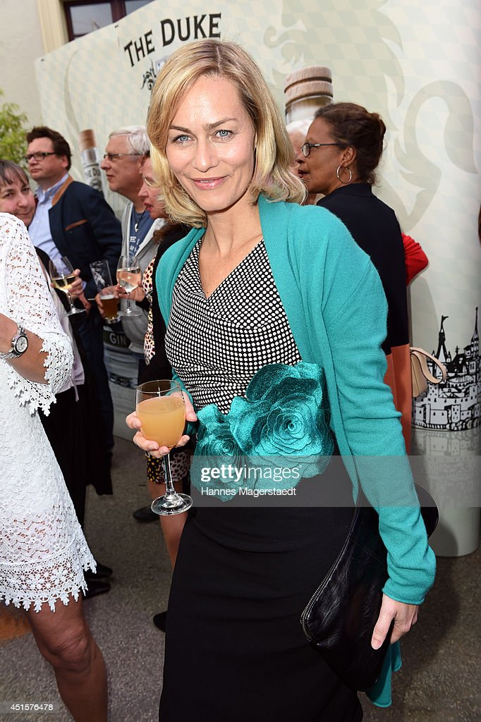Actress Aglaia Szyszkowitz attends the Bavaria Reception at the Kuenstlerhaus as part of the Munich Film Festival 2014 on July 1, 2014 in Munich, Germany.