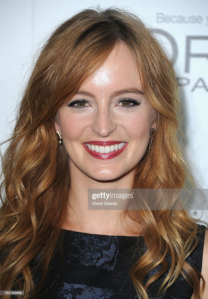 Actress Ahna O'Reilly arrives at ELLE's 19th Annual Women In Hollywood Celebration at the Four Seasons Hotel on October 15, 2012 in Beverly Hills, California.
