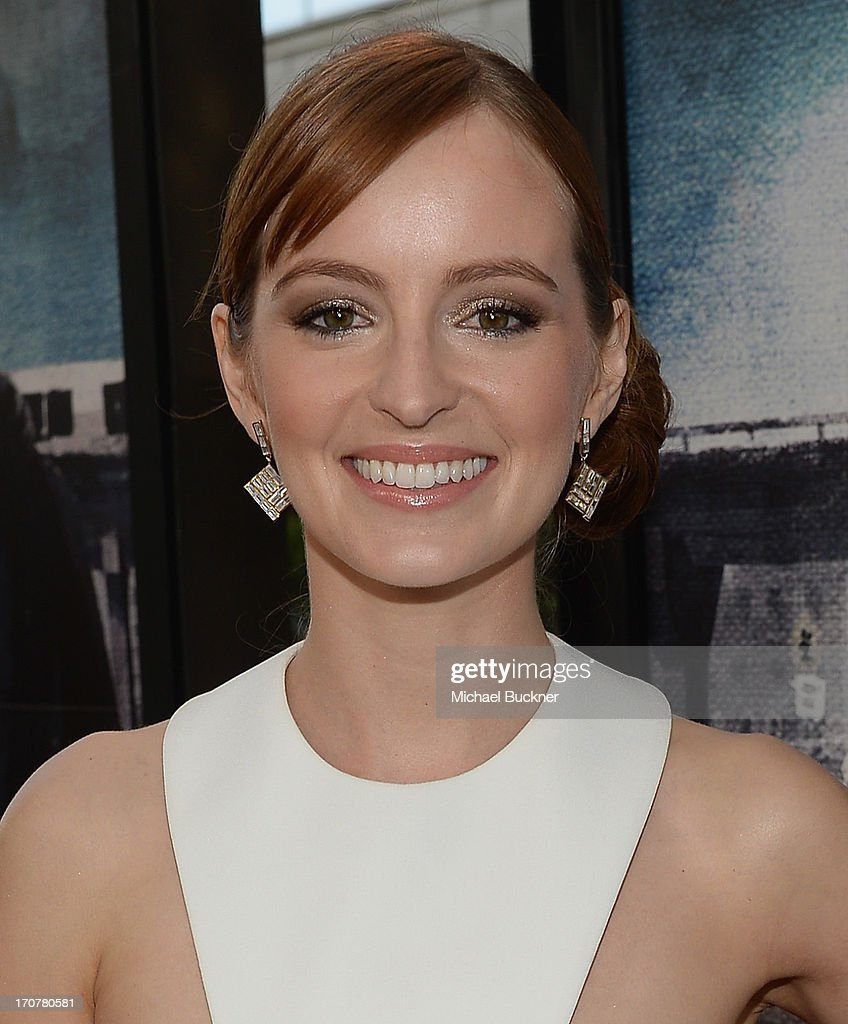 Actress Ahna O'Reilly arrives at the premiere of The Weinstein Company's 'Fruitvale Station' at Regal Cinemas L.A. Live on June 17, 2013 in Los Angeles, California.
