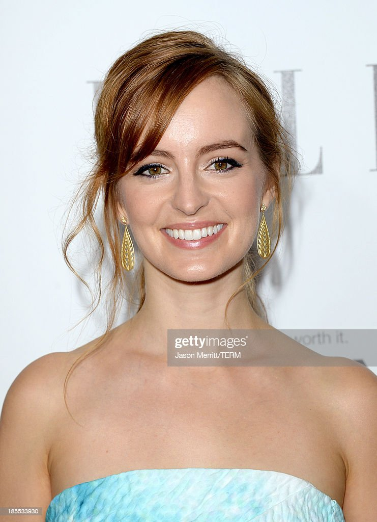 Actress Ahna O'Reilly attends ELLE's 20th Annual Women In Hollywood Celebration at Four Seasons Hotel Los Angeles at Beverly Hills on October 21, 2013 in Beverly Hills, California.
