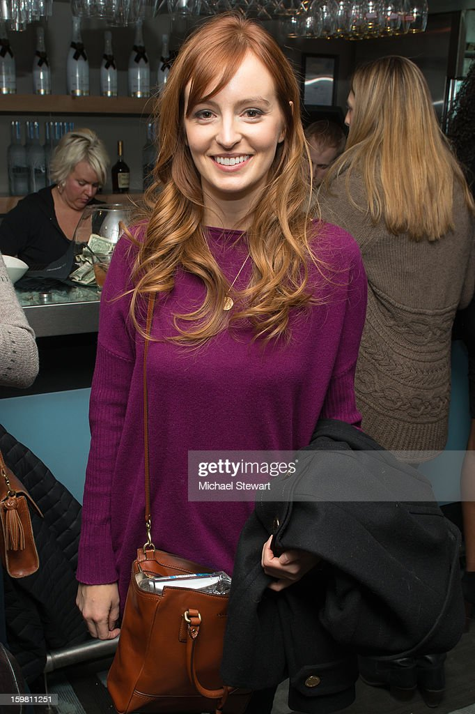 Actress Ahna O'Reilly attends Paige Hospitality Game Watch at Sky Bar on January 20, 2013 in Park City, Utah.