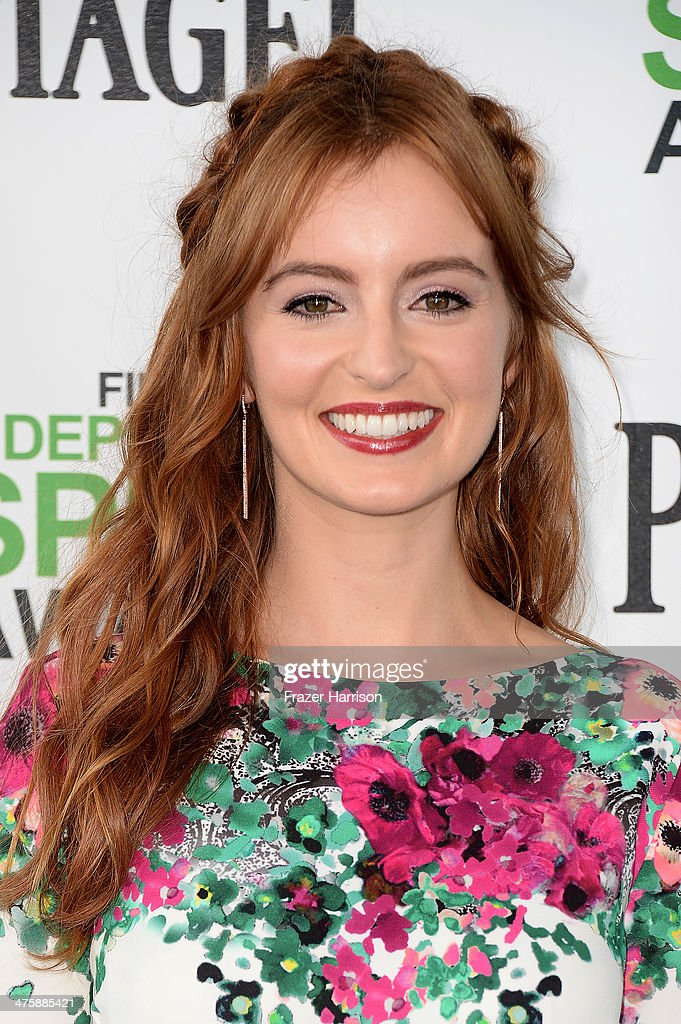Actress Ahna O'Reilly attends the 2014 Film Independent Spirit Awards at Santa Monica Beach on March 1, 2014 in Santa Monica, California.