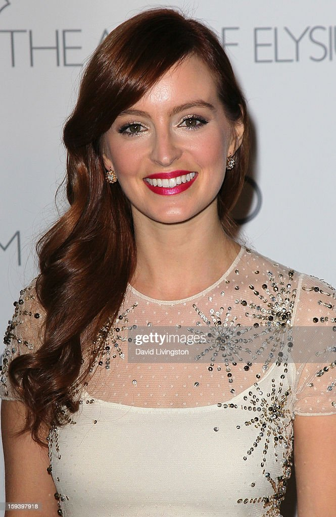 Actress Ahna O'Reilly attends the Art of Elysium's 6th Annual Black-tie Gala 'Heaven' at 2nd Street Tunnel on January 12, 2013 in Los Angeles, California.