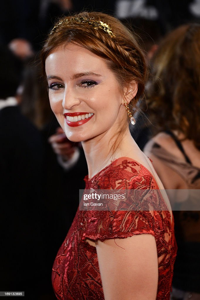 Actress Ahna O'Reilly attends the 'As I Lay Dying' Premiere during the 66th Annual Camnes Film Festival at the Palais des Festivals on May 20, 2013 in Cannes, France.