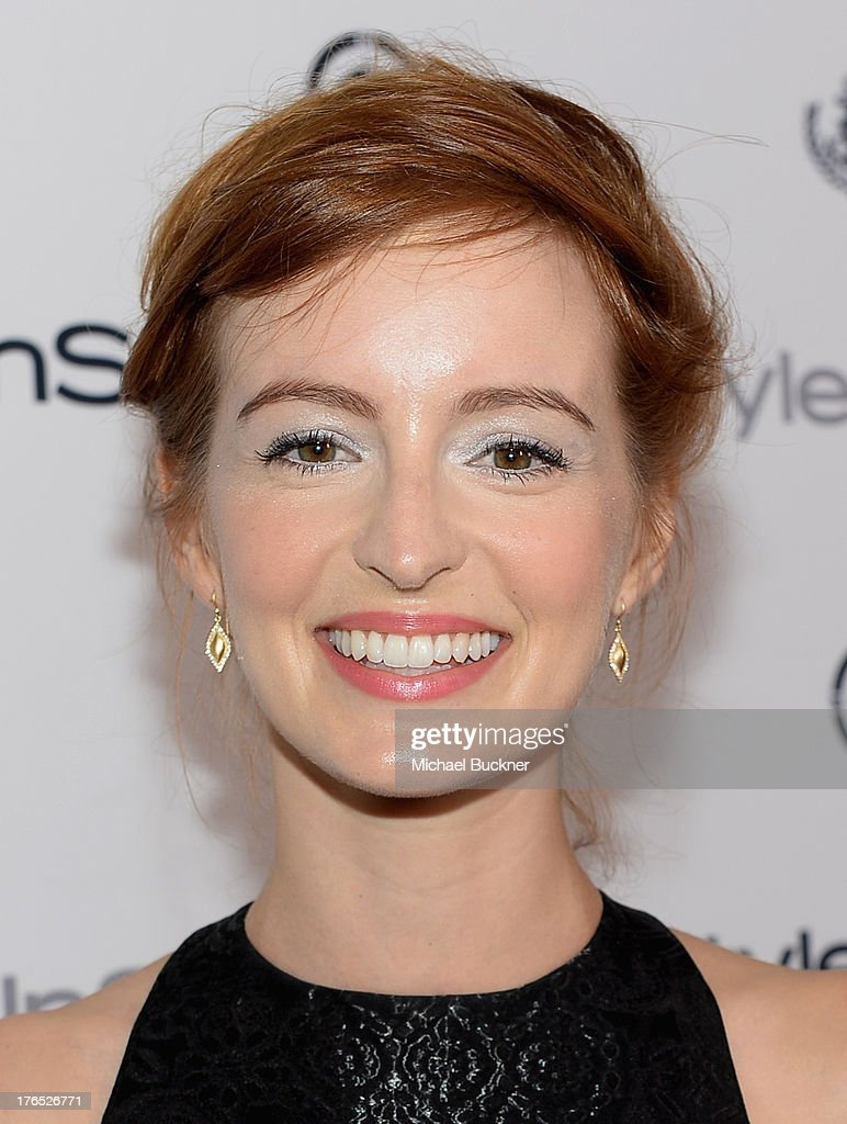 Actress Ahna O'Reilly attends the InStyle Summer Soiree held Poolside at the Mondrian hotel on August 14, 2013 in West Hollywood, California.
